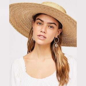 Free People Ultra Wide Spencer Straw Hat